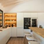 Cocina finca en torrent, Costa Brava